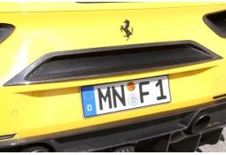 Cache Centrale Arrière NOVITEC Ferrari 488 GTB/Spider