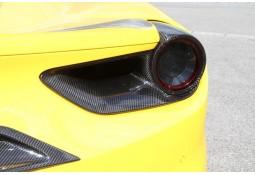 Aération Latérale Arrière Carbone NOVITEC Ferrari 488 GTB/Spider (2016-)