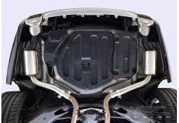 Echappement sport look OEM MEC DESIGN pour Mercedes CLS (C218) sans Pack AMG