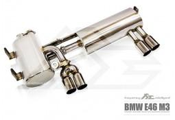 Echappement Fi EXHAUST BMW M3 E46 (2001-2006) -Silencieux à valves