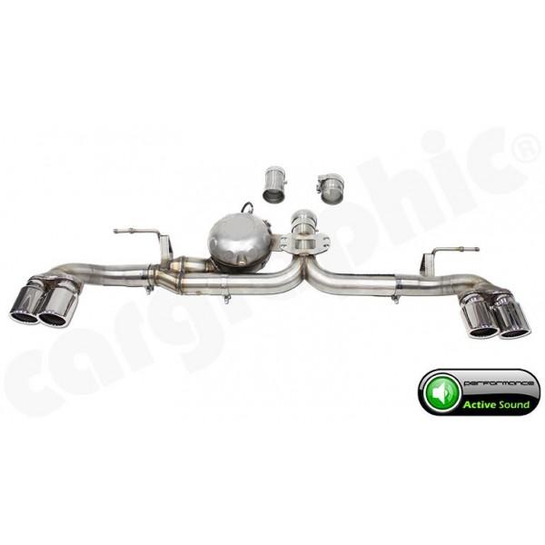 Echappement Active Sound System BMW X5 40d M50d F15 Avec Pack M - CARGRAPHIC