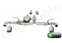 """Echappement sport """"Active Sound System """" CARGRAPHIC pour Bmw X4 F26 avec Pack M"""
