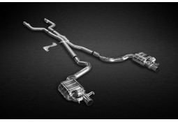 Echappement CAPRISTO Mercedes C 63 AMG (W/S/C 205) (02/2015-) -Ligne Cat-Back à valves