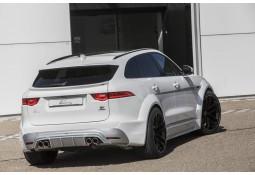 Diffuseur arrière + embouts d'échappement LUMMA DESIGN pour Jaguar F-PACE (2016-)