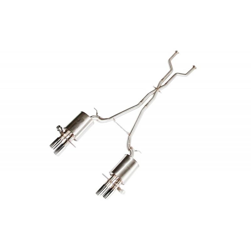 echappement ipe innotech bmw m6 e63 ligne cat back valves suprcars. Black Bedroom Furniture Sets. Home Design Ideas