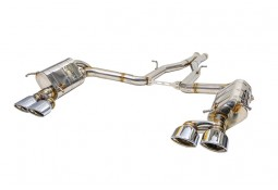 Ligne d'échappement Cat-Back Inox à valves IPE INNOTECH Mercedes-Benz C 63 AMG (W204) (2009-2013)