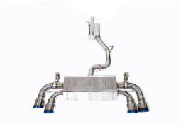 Ligne d'échappement Cat-Back Inox à valves IPE INNOTECH VW Golf 7 R (2014-2016)