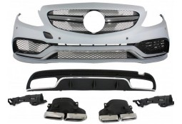 Kit carrosserie look C63 AMG pour Mercedes Classe C Berline (W205) Pack AMG