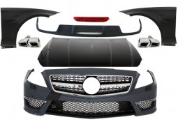 Kit carrosserie look CLS63 AMG pour Mercedes CLS (C218) Pack AMG