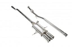 Ligne d'échappement Cat-Back Inox à valves IPE INNOTECH Mini Cooper S (R56 R57 R58 R59) (2007-2015)