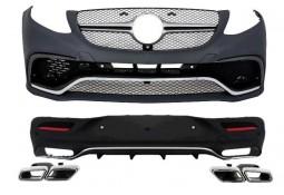 Kit carrosserie look GLE63 AMG Coupé pour Mercedes GLE coupé (C292)(2015-) (Pack AMG)