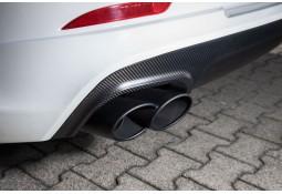 Embouts d'échappements noir TECHART Porsche Panamera Turbo / Turbo S (2014-)