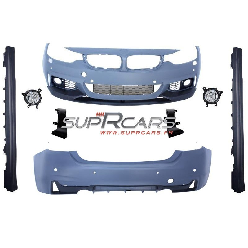Kit carrosserie look Pack M-Performance pour Bmw Série 4 (F32/F33/F36)