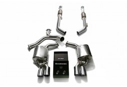 Echappement ARMYTRIX Mercedes C400/450/43 AMG Berline/Coupé/Break (W/C/S205) - Ligne Cat-Back à valves (2014-)