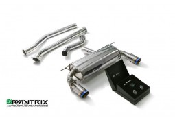 Echappement ARMYTRIX BMW 340i 2WD (F30/F31) - Ligne Cat-Back à valves (2016-)