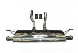 Echappement TUBI STYLE Porsche Cayenne 958 S V8 (2012-2015) -Silencieux