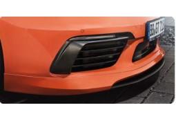 Extensions de pare-chocs avants carbone TECHART pour Porsche Boxster / Cayman + S 718 / 982 (2016-))