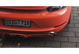 Contour de diffuseur en carbone TECHART pour Porsche Boxster / Cayman + S 718 / 982 (2016-))