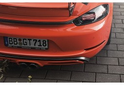 Bandeau de coffre en carbone TECHART pour Porsche Boxster / Cayman + S 718 / 982 (2016-))
