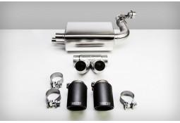 Echappement TECHART Porsche Boxster / Cayman + S + GTS 718 / 982 (2016+) -Silencieux à valves Racing
