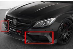 Extensions de pare-chocs avant BRABUS en Carbone pour Mercedes Classe C63 AMG Coupé (A/C205)