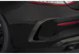 Extensions de pare-chocs arrière BRABUS en Carbone pour Mercedes Classe C63 AMG Coupé (C205)