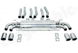 Echappement CARGRAPHIC Porsche Cayenne 958.1 S & GTS 4,8l V8 -Silencieux à valves