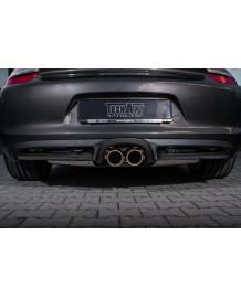 Diffuseur arrière carbone TECHART pour Porsche Cayman / Boxster 981 (2012-)