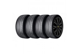"""Pack HIVER jantes et pneus ARDEN Dakar II Black 22"""" pour Range Rover + Sport (2014-)"""