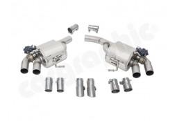 Echappement sport inox CARGRAPHIC à valves pour Porsche Macan Turbo / S