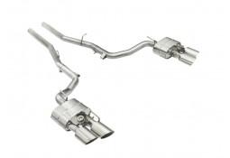 Ligne d'échappement Inox Cat-Back à valves Tubi Style Maserati Ghibli (2013-)