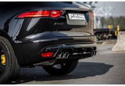 Silencieux d'échappement 4 sorties + Diffuseur ARDEN Jaguar F-Pace Pure, Prestige, Portfolio (2016-)