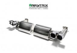 Ligne d'échappement inox ARMYTRIX à valves Porsche 997.1 3,6 Turbo (2006-2008)