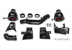 Kit d'admission Carbone / Kevlar EVENTURI pour Bmw M4 (F82/F83) / M3 (F80)