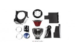 Kit d'admission Carbone / Kevlar EVENTURI pour Bmw M3 (E46)