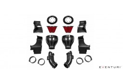 Kit d'admission Carbone / Kevlar EVENTURI pour Bmw M5  (F10/F11)