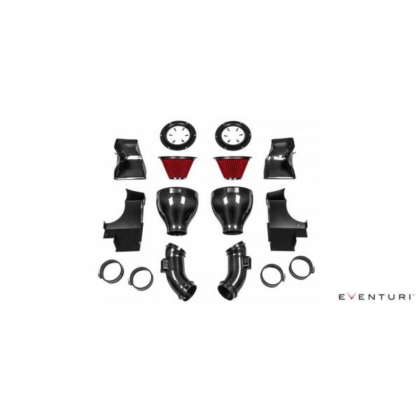 Kit Admission Direct Bmw M6 EVENTURI Carbone / Kevlar F12 F13 F06