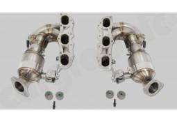 Collecteurs d'échappement + Catalyseurs Sport CarGraphic® Porsche Boxster Spyder / Cayman GT4 (+CS) (981) (3,8 L)