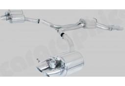 Echappement CARGRAPHIC Audi RS4 (B8) -Ligne Cat-Back à valves