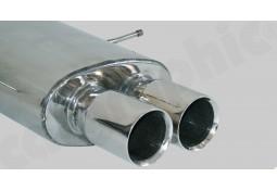 Ligne d'échappement Cat-Back Inox à valves CarGraphic® Mini Cooper S (R56)