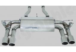 Silencieux Arrière Inox à valves CarGraphic® Jaguar XK R 4,2l