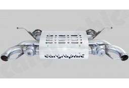 Silencieux Arrière Inox à valves CarGraphic® Aston Martin Virage V12