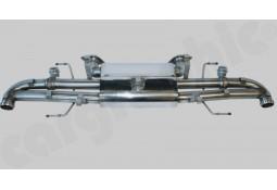 Silencieux Arrière Inox à valves CarGraphic® Aston Martin Rapid/S