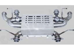 Silencieux Arrière Inox à valves CarGraphic® Aston Martin DBS (+Volante) V12