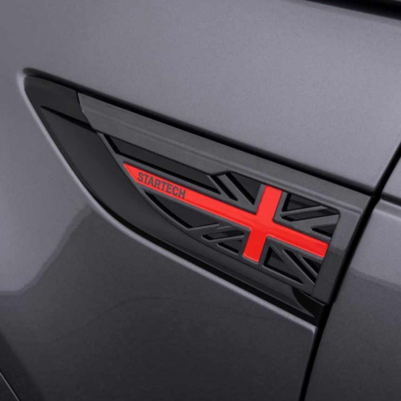 """Inserts d'ailes """"Union Jack"""" STARTECH pour Range Rover Discovery 5 (2017-)"""