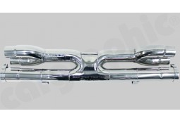 "Tubes de sortie ""X"" Inox CarGraphic® Porsche 911 Turbo / Turbo S (991.1/991.2)"