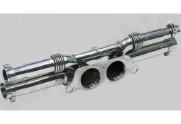 Tubes de sorties Inox CarGraphic® Porsche 991.1 GT3 / GT3 RS / 991.2 GT3