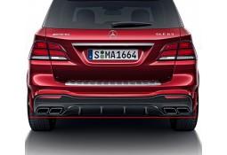 Diffuseur arrière + embouts échappements GLE 63 AMG pour Mercedes GLE W166 Pack AMG