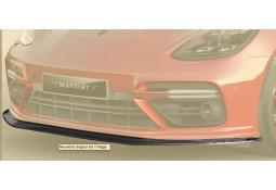 Lame de spoiler avant Carbone MANSORY pour Porsche Panamera 971 (2016-)