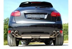 Ligne d'échappement Cat-Back MILLTEK Sport pour Porsche Cayenne 958 4,5 V8 Turbo (Bruyant)